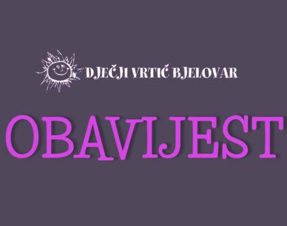 Raspored utvrđivanja psihofizičkog stanja djece za upis u prvi razred osnovne škole u 2021./2022. školskoj godini na području Bjelovarsko-bilogorske županije